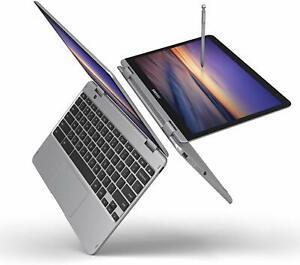 Samsung Chromebook Plus V2 520QAB-K03 3965Y 1.5GHz 4 64GB Touch Laptop Notebook