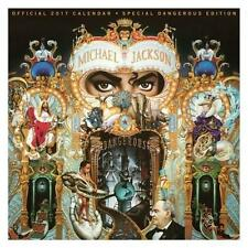 MICHAEL JACKSON OFFICIAL 2017 UK SQUARE WALL CALENDAR NEW & SEALED