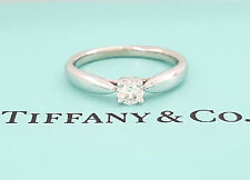 Tiffany & Co Harmony 0.18 ct Platinum Round Diamond Solitaire Engagement Ring