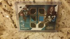 KELVIN BENJAMIN 2014 ABSOLUTE ROOKIE TOOLS OF THE TRADE SIX JERSEY # 1/1- PATCH
