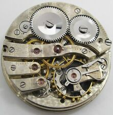 Quality 16s Pocket Watch Tavannes Movement 17 jewels for parts * Whisky Dawson *