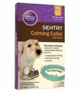 (3 PACK) SENTRY Good Behavior Pheromone Calming Dog Collar Anxiety Stress