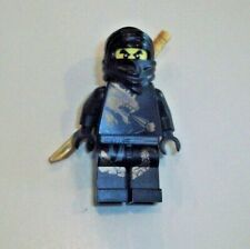 Lego Minifigure Ninjago Black Ninja ~ Cole DX Dragon Suit