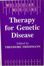 Molecular Medicine: Therapy for Genetic Disease 1991 Paperback Never Used
