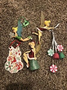 Disney's Tinker Bell Christmas Ornament Gumdrop  Sugar Cookie Candy Snow Flake