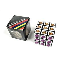 The Chuck E. Cheese Cube 1982 Pizza Time Theatre Inc Puzzler Rubiks Puzzle Cube