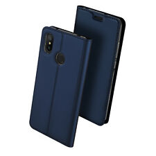 """DD For Xiaomi Mi A2 Lite 5.84"""" PU Leather Flip Case Wallet Magnetic Skin Cover"""