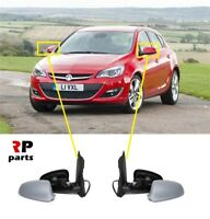 FOR OPEL VAUXHALL ASTRA J 09-15 NEW WING MIRROR ELECTRIC HEATED PRIMED PAIR LHD