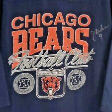 Authentic Autographed Jim McMahon 1985 Vintage Chicago Bears Jersey XL T-shirt