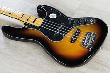 G&L Tribute JB 4String Electric Bass Maple Board Black Pickguard 3-Tone Sunburst