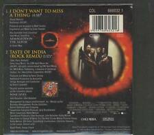 AEROSMITH I Don't Want To Miss A Thing 2 TR CARD slv CD SINGLE