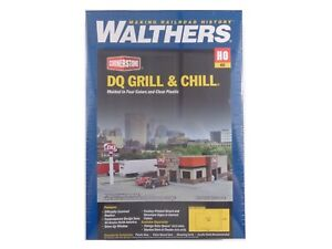 HO Dairy Queen Grill & Chill Building - Walthers Cornerstone #933-3485 vmf121