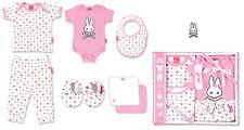 SIX BUNNIES Pink Chaos Bunnies Set