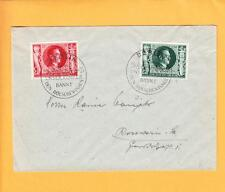 Nazi Germany Hitler Birthday 1943 Stamps One Day Only Special Berlin Cancel z69