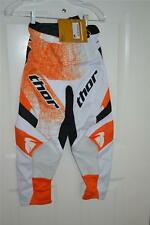 New Thor Adult Phase S11 Performance Pants Orange Scribble Size 28 Motorcross MX