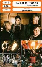 FICHE CINEMA : LA NUIT DE L'EVASION - Hurt,Alexander,Mann 1982 Night Crossing