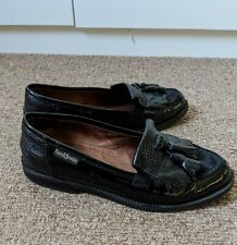 Russell & Bromley Chester Tassel Black Loafers | UK Size 2.5
