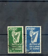 IRELAND Sc 147-8(SG 154-5)F-VF USED 1953 AN TOSTAL SET $52