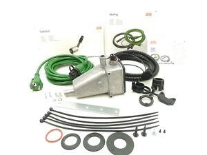 DEFA 411733 Engine Heater +40°C THERMOSTAT 1500W 230V +Cable Set 460787 5m +1,5m