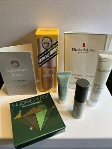 Mix Beauty Bundle Huda Beauty, Augustinus Bader, Sol De Janeiro, Elemis