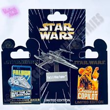 DISNEYLAND STAR WARS AFTER DARK 2018 LR PINS COMPLETE SET *IN HAND* MAY THE 4TH