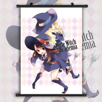 Little Witch Academia Atsuko Diana HD Canvas Print Wall Poster Scroll Room Decor