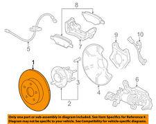 GM OEM Rear Brake-Rotor 23118282