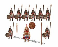 PLAYMOBIL GREEK SPARTAN ANCIENT HOPLITE ROMAN SOLDIERS MEDIEVAL 9 FIGURES