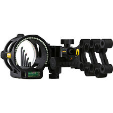 Trophy Ridge Sight React V 5 Pin Bow Sight Black W- Sight Light AS845 #23079 RH