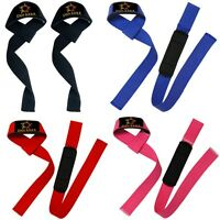 Weight Lifting Training Gym Straps Hand Bar Wrist Support Gloves Wrap