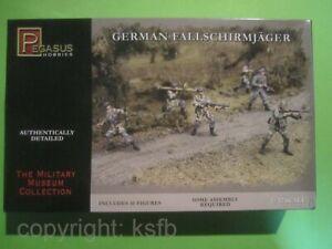 1:32 Figuren Pegasus #3204 WKII Deutsche Fallschirmjäger WWII German Paratroops