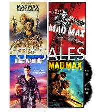 Mad Max Complete Collection 1 2 3 4 Road Warrior Thunderdome Fury Road NEW DVD