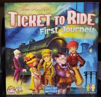 Ticket to Ride: First Journey Counted 100% Complete Days of Wonder 2016