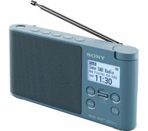 SONY XDR-S41D - BLUE Portable DAB+/FM Clock Radio - BRAND NEW & BOXED