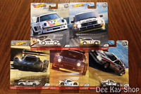 Thrill / Hill Climbers Complete Set of 5 - Hot Wheels Premium Car Culture (2020)