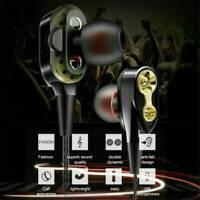 7D HIFI Headphone 3.5mm Super Bass Headset In-Ear Wired Earphone Stereo Earbuds