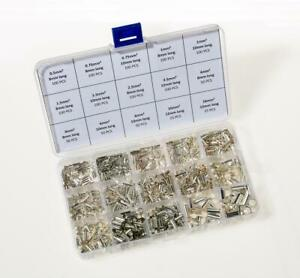 1150pcs Non Un-Insulated Bootlace Ferrules Cord End Terminals Kit 0.5mm² - 16mm²