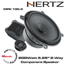 "Hertz Mille PRO MPK 130.3 200 W 5.25"" Set altoparlanti componente"