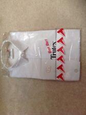 Trutex School Shirt, White, Size 28, Long Sleeve, Boys Uniform