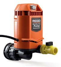 RIDGID Quick Connect Pool Storm Drain Vacuum Pump Accessory Wet Dry Vacs VP2000