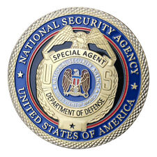 National Security Agency NSA GP Challenge coin 1409#