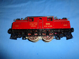 IVES #3242 Standard Gauge 0-4-0 Electric Locomotive. Runs Well