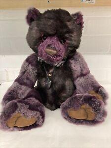 Charlie Bears Blackbeary 2014