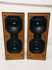 Vintage Mordaunt -Short Ms 300 speakers