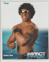 Zema Ion Officially Licensed TNA Wrestling Promo Photo