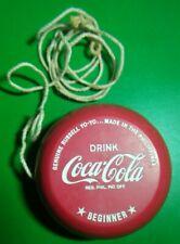 Vintage toy Coca Cola Yoyo