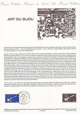 Document Philatélique Timbre 1er Jour : 10/09/ 1983 - Art du Bijou