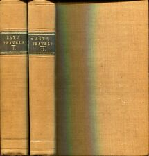 Ray, Mr John [1628-1705] TRAVELS THROUGH THE LOW-COUNTRIES, GERMANY, ITALY, AND