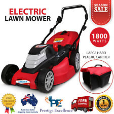 Lincoln LE17L 1800W 17 Electric Lawn Mower Light Weight Portable Push Lawnmower