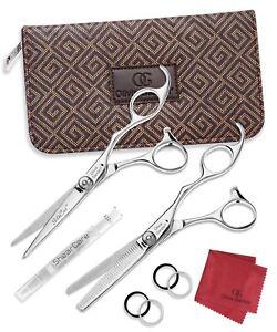 Olivia Garden Silk Cut Collection Hair Cutting Shears Scissors Set SK-C02